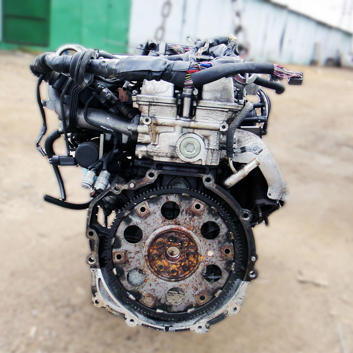 Двигатель тойота марк 2 на газель 91